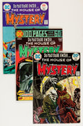 Bronze Age (1970-1979):Horror, House of Mystery Group (DC, 1972-77) Condition: Average FN/VF....(Total: 21 Comic Books)
