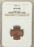 Indian Cents: , 1876 1C MS64 Red and Brown NGC. NGC Census: (130/109). PCGSPopulation (213/69). Mintage: 7,944,000. Numismedia Wsl. Price ...