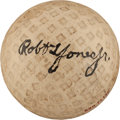 Golf Collectibles:Autographs, 1925-40 Bobby Jones Single Signed Golf Ball--Finest Known!...