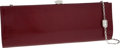 Luxury Accessories:Bags, Judith Leiber Red Patent Leather Clutch Evening Bag. ...