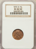 Lincoln Cents: , 1912-S 1C MS64 Red and Brown NGC. NGC Census: (95/35). PCGSPopulation (192/29). Mintage: 4,431,000. Numismedia Wsl. Price ...