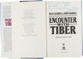 "Explorers:Space Exploration, Buzz Aldrin: Encounter with Tiber Signed Book Directly fromthe Personal Collection of Astronaut ""Den Mother"" Lola..."