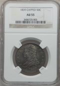 Reeded Edge Half Dollars: , 1839 50C AU55 NGC. NGC Census: (52/186). PCGS Population (60/135).Mintage: 1,392,976. Numismedia Wsl. Price for problem fr...