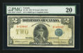 Canadian Currency: , DC-26i $2 1923. ...