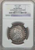 Bust Half Dollars: , 1812 50C -- Improperly Cleaned -- NGC Details. AU. O-105. NGCCensus: (35/516). PCGS Population (67/440). Mintage: 1,628,0...
