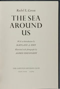 Books:Natural History Books & Prints, Rachel L. Carson, author; Alfred Eisenstaedt, photographer. SIGNED LIMITED. The Sea Around Us. Limited Editions ...