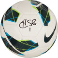 Miscellaneous Collectibles:General, Hope Solo Signed Soccer Ball....