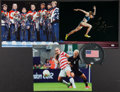 Miscellaneous Collectibles:General, Olympic Greats Signed Memorabilia Lot of 4....