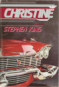 Books:Horror & Supernatural, Stephen King. Christine. West Kingston, Rhode Island: DonaldM. Grant, Publisher Inc., 1983. First edition, nu...