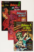 Silver Age (1956-1969):Horror, Ripley's Believe It Or Not! File Copies Group (Gold Key, 1960s'-70s) Condition: Average VF/NM.... (Total: 17 Comic Books)