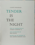 Books:Fine Press & Book Arts, [Limited Editions Club]. F. Scott Fitzgerald. SIGNED / LIMITED.Tender Is the Night. Illustrated by Fred Meyer. ...