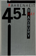 Books:Science Fiction & Fantasy, [Limited Editions Club]. Ray Bradbury. SIGNED/LIMITED.Fahrenheit 451. Limited Editions Club, 1982. One of 2,0...