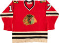 Hockey Collectibles:Uniforms, Late 1970's - Early 1980's Dallas Black Hawks Game Worn Jersey....