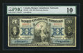 Canadian Currency: , Montreal, PQ - Banque Canadienne Nationale $20 Feb. 1, 1929 Ch. #85-10-06. ...