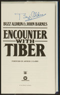 Autographs:Others, Buzz Aldrin Signed Encounter With Tiber Book....