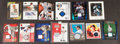 Autographs:Sports Cards, Pitching Greats Signed Cards, And Jersey Swatch Cards Lot Of 13...