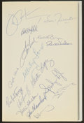 Autographs:Others, New York Yankees Multi Signed Book And Signed Magazines Lot Of3....