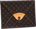 Luxury Accessories:Bags, Louis Vuitton Classic Monogram Canvas Visionaire Clutch Bag. ...