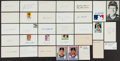 Autographs:Index Cards, Baseball Greats Signed Index Cards Lot Of 30+....