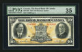 Canadian Currency: , Montreal, PQ- The Royal Bank of Canada $10 Jan. 3, 1927 Ch. #630-14-08. ...