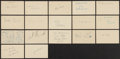 Baseball Collectibles:Others, 1940's Baseball and Misc. Sports Minor Stars Signed GovernmentPostcards Lot of 126. ...