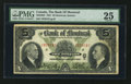 Canadian Currency: , Montreal, PQ - The Bank of Montreal $5 Jan. 2, 1931 Ch. #505-58-02. ...