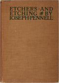 Books:Books about Books, Joseph Pennell. Etchers and Etching. New York: The Macmillan Company, 1926. Fourth edition. Folio. Profusely ill...