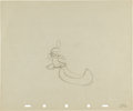 Animation Art:Production Drawing, Little Hiawatha Production Drawing Original Art (Disney,1953)....