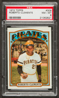 Baseball Cards:Singles (1970-Now), 1972 Topps Roberto Clemente #309 PSA NM-MT 8....