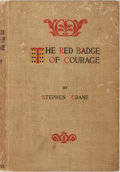 Books:Literature Pre-1900, Stephen Crane. The Red Badge of Courage. New York: Appleton,1896. Second edition. Octavo. 233 pages. Publisher's bi...