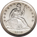 Seated Dimes: , 1839 10C No Drapery MS68 NGC. No Drapery dimes were only struck forthree years and they are now an important and widely co...