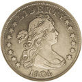 Early Quarters: , 1804 25C XF40 NGC. B-1, R.4. This variety has the space between BEin LIBERTY about twice as much as on the R.6 B-2 variety...