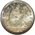 Seated Quarters: , 1877-S 25C MS68 NGC. 1876 and 1877 were the banner years for Seated quarter production. Even the Carson City Mint had large...