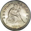 Seated Quarters: , 1888-S 25C MS67 PCGS. The popularity of this date among Seatedquarter collectors is unflagging due to its status as the on...