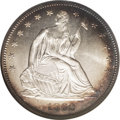 Seated Half Dollars: , 1862 50C MS67 NGC. The 1862 half dollar is an underrated issue inall grades. Its mintage of 253,000 examples is less than ...