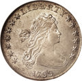 Early Dollars: , 1799 $1 MS61 NGC. B-8, BB-165, R.2. The inner ray of star 10 isdoubled, and the N of UNITED ...