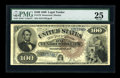 Large Size:Legal Tender Notes, Fr. 178 $100 1880 Legal Tender PMG Very Fine 25....