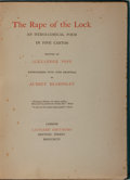 Books:Literature Pre-1900, Aubrey Beardsley, illustrator. Alexander Pope. The Rape of theLock. An Heroi-Comical Poem in Five Cantos. Londo...