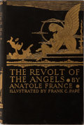 Books:Literature Pre-1900, Frank Pape, illustrator. Anatole France. The Revolt of the Angels. London and New York: John Lane the Bodley Hea...