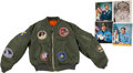 Explorers:Space Exploration, John Young Signed Photo, NASA Patch Jacket, and other Memorabiliafrom a Kennedy Space Center Worker. ... (Total: 2 )