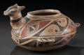 American Indian Art:Pottery, A CASAS GRANDES POLYCHROME EFFIGY VESSEL. c. 1200 - 1450...