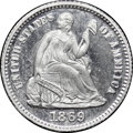 Patterns, 1869 PH10C Seated Half Dime, Judd-693, Pollock-772, High R.7, PR67 Ultra Cameo NGC....