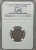 Civil War Merchants, (1861-65) R.R. Parker, Indianapolis, IN, XF45 NGC.Fuld-IN460N-1a....