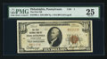 National Bank Notes:Pennsylvania, Philadelphia, PA - $10 1929 Ty. 1 The First NB Ch. # 1. ...