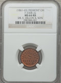 Civil War Merchants, (1861-65) Dr. E. Dillon & Son, Fremont, OH, MS64 Red and BrownNGC. Fuld-OH330B-2a....