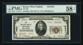 National Bank Notes:West Virginia, Keyser, WV - $20 1929 Ty. 2 The NB of Keyser Ch. # 13831. ...