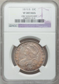 Bust Half Dollars: , 1819/8 50C Small 9 -- Obv Scratched -- NGC Details. VF. NGC Census:(9/288). PCGS Population (10/206). Numismedia Wsl. Pri...