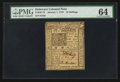 Colonial Notes:Delaware, Delaware January 1, 1776 10s PMG Choice Uncirculated 64.. ...