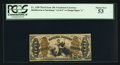 Fractional Currency:Third Issue, Fr. 1350 50¢ Third Issue Justice PCGS About New 53.. ...