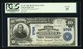National Bank Notes:West Virginia, Romney, WV - $10 1902 Plain Back Fr. 627 The First NB Ch. # 9766....